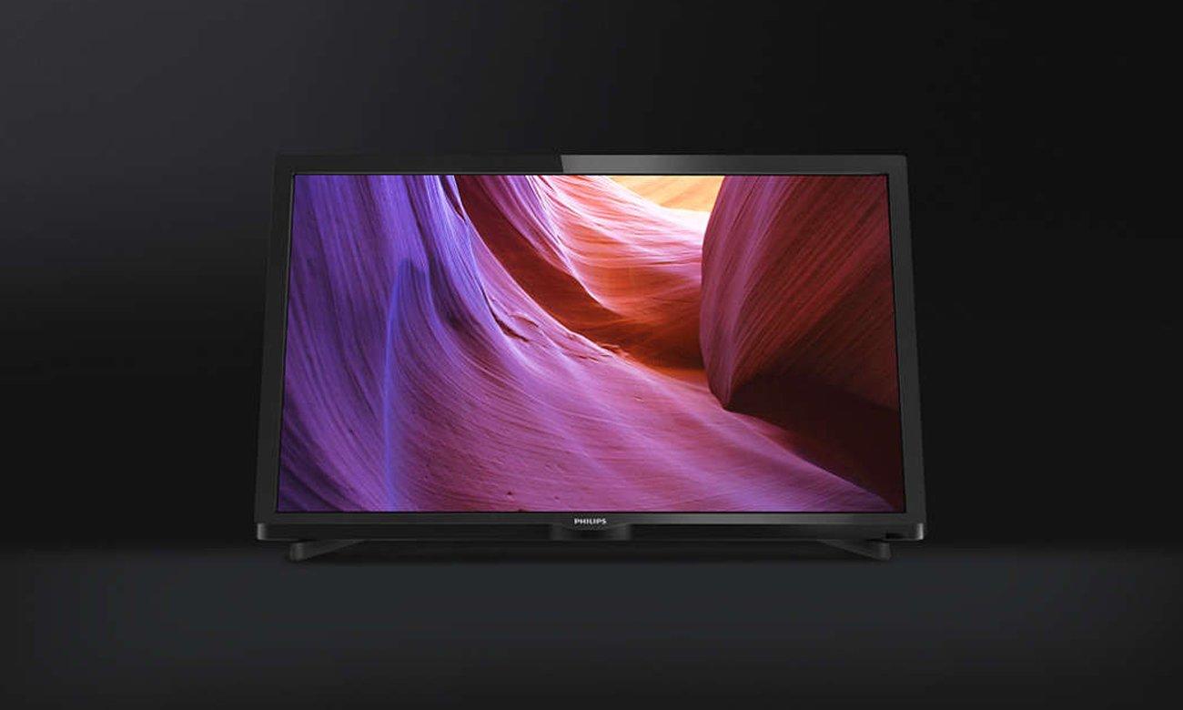 Płynny obraz w telewizorze Philips 24PHH4000