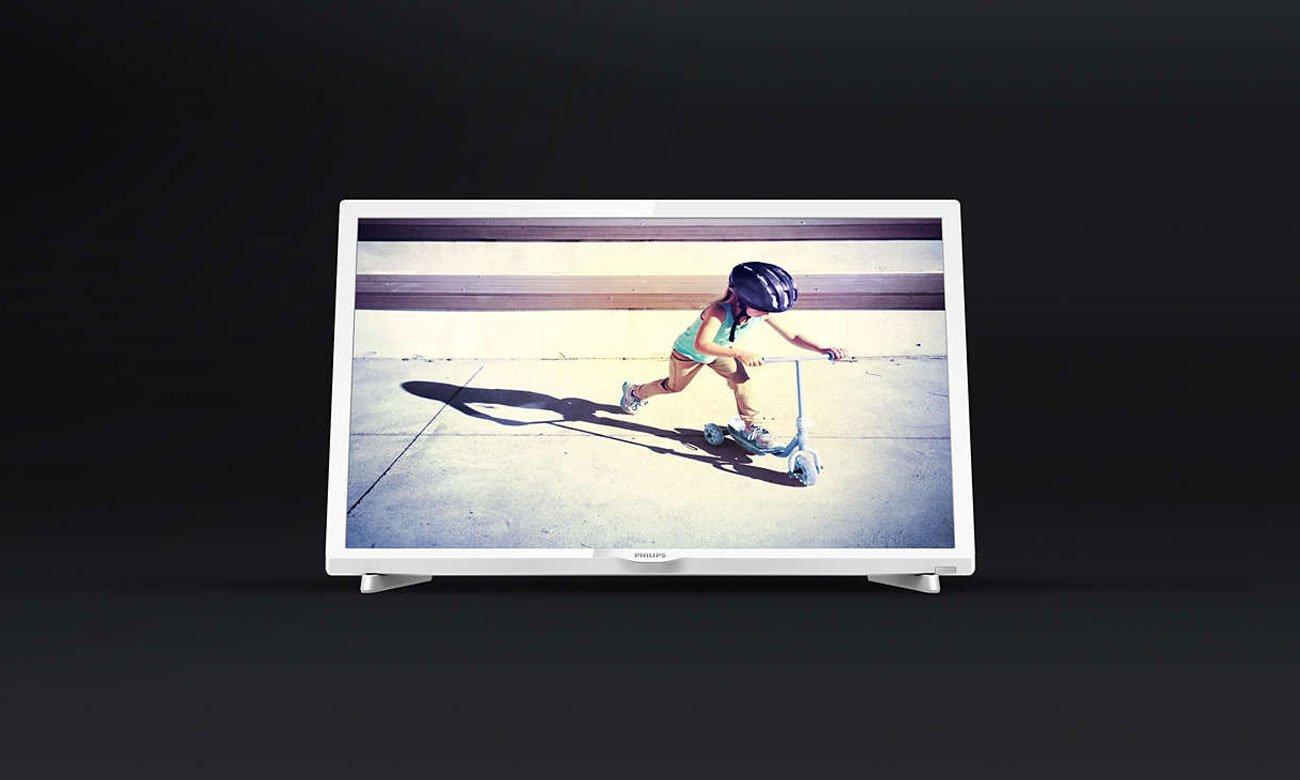 Czysty obraz w telewizorze Philips 24PHT4032