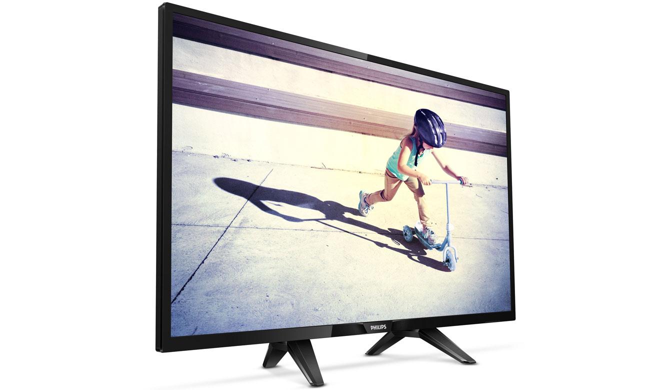 Wygląd 32 calowego telewizora Philips 32PFT4132