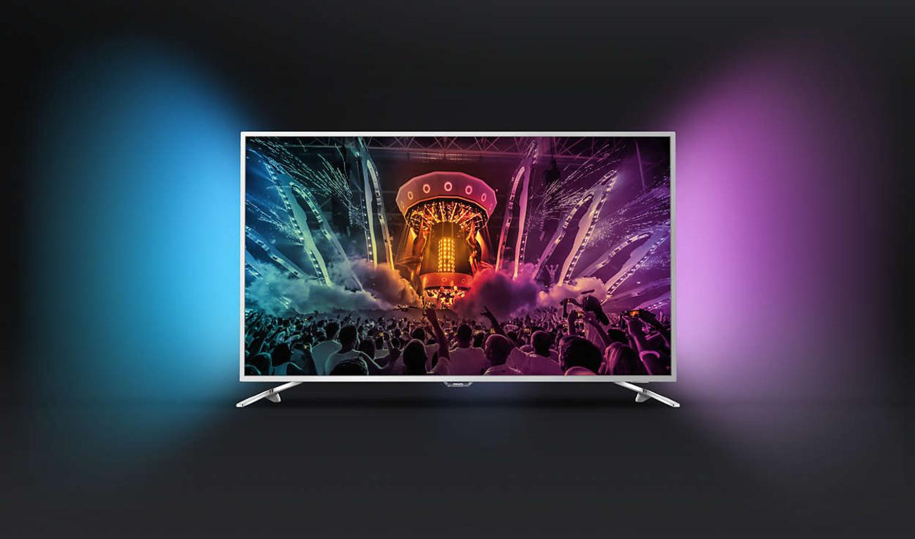 Funkcja optymalizacji kolorów w telewizorze Philips 43PUS6501