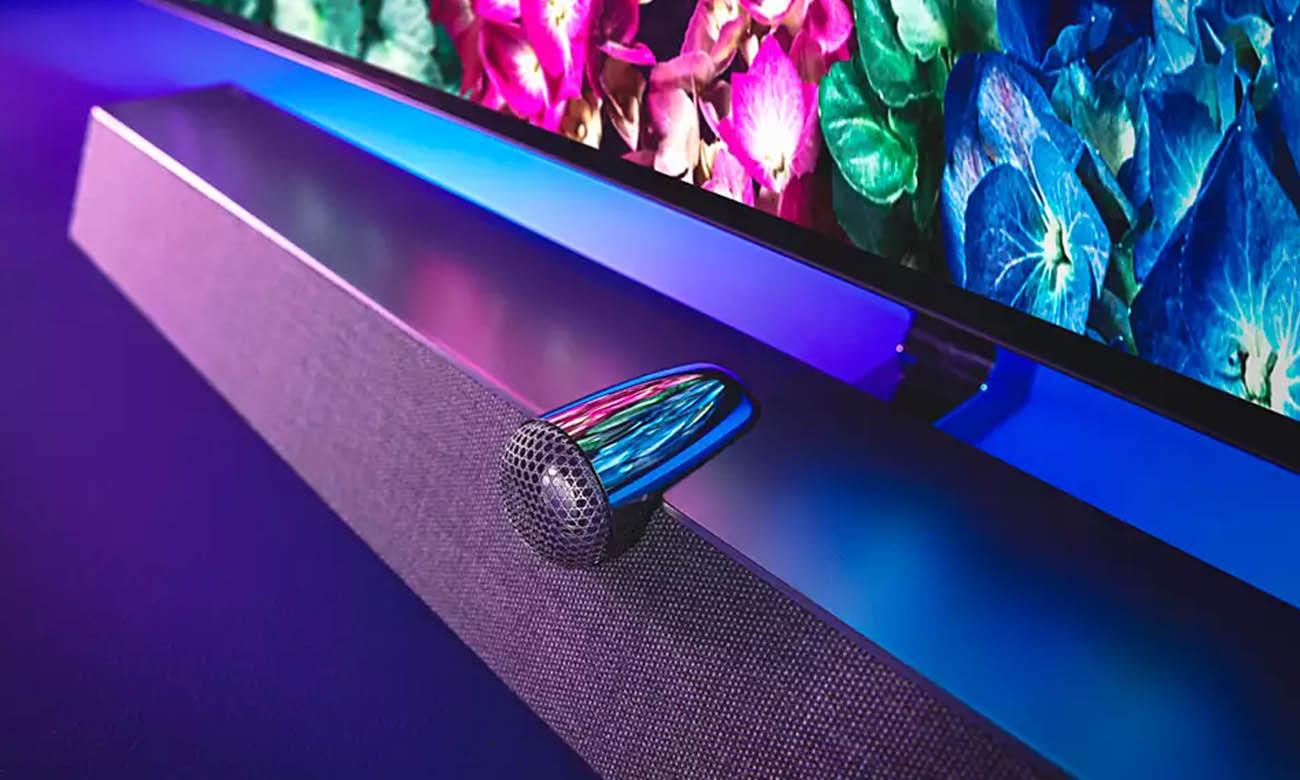 Soundbar Bowers Wilkins w telewizorze Philips 48OLED935