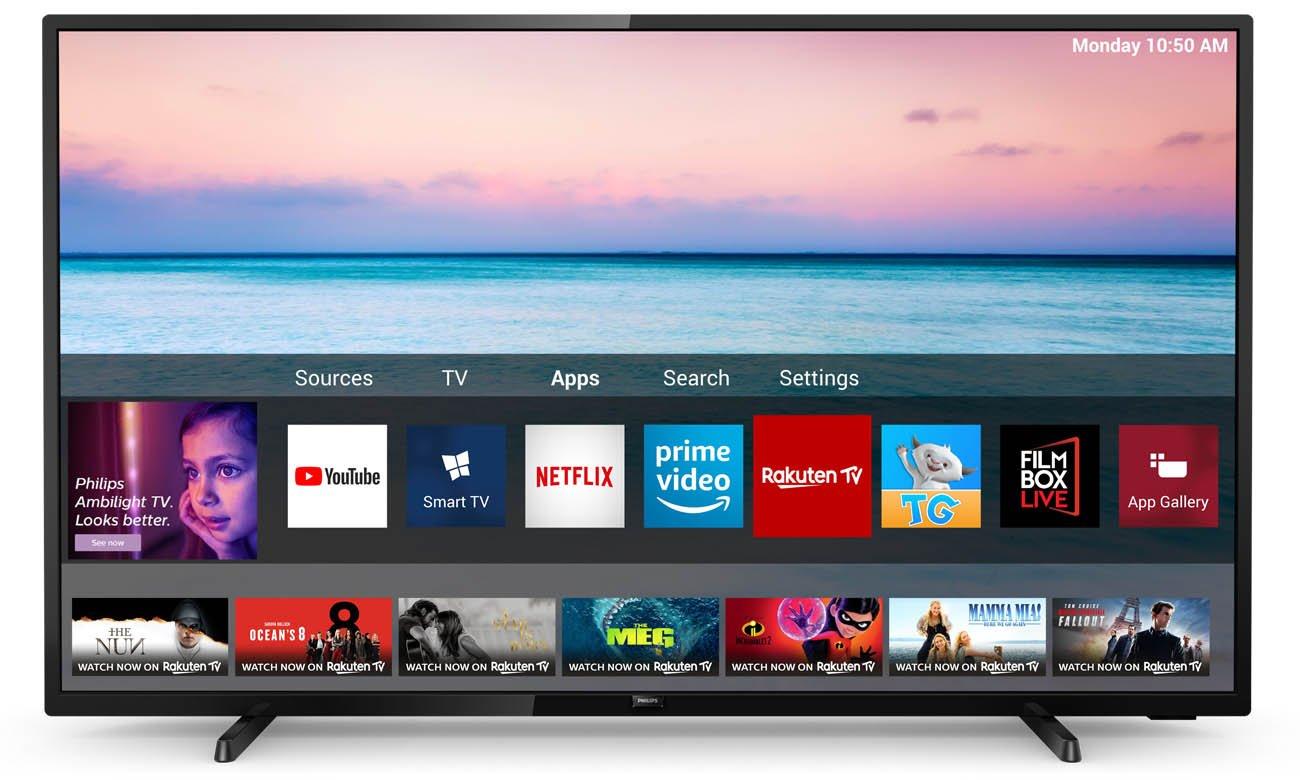 Telewizor Philips 4K 50PUS6504 Smart TV SAPHI