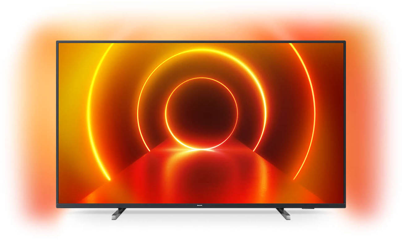 43-calowy telewizor Philips 4K 50PUS7805
