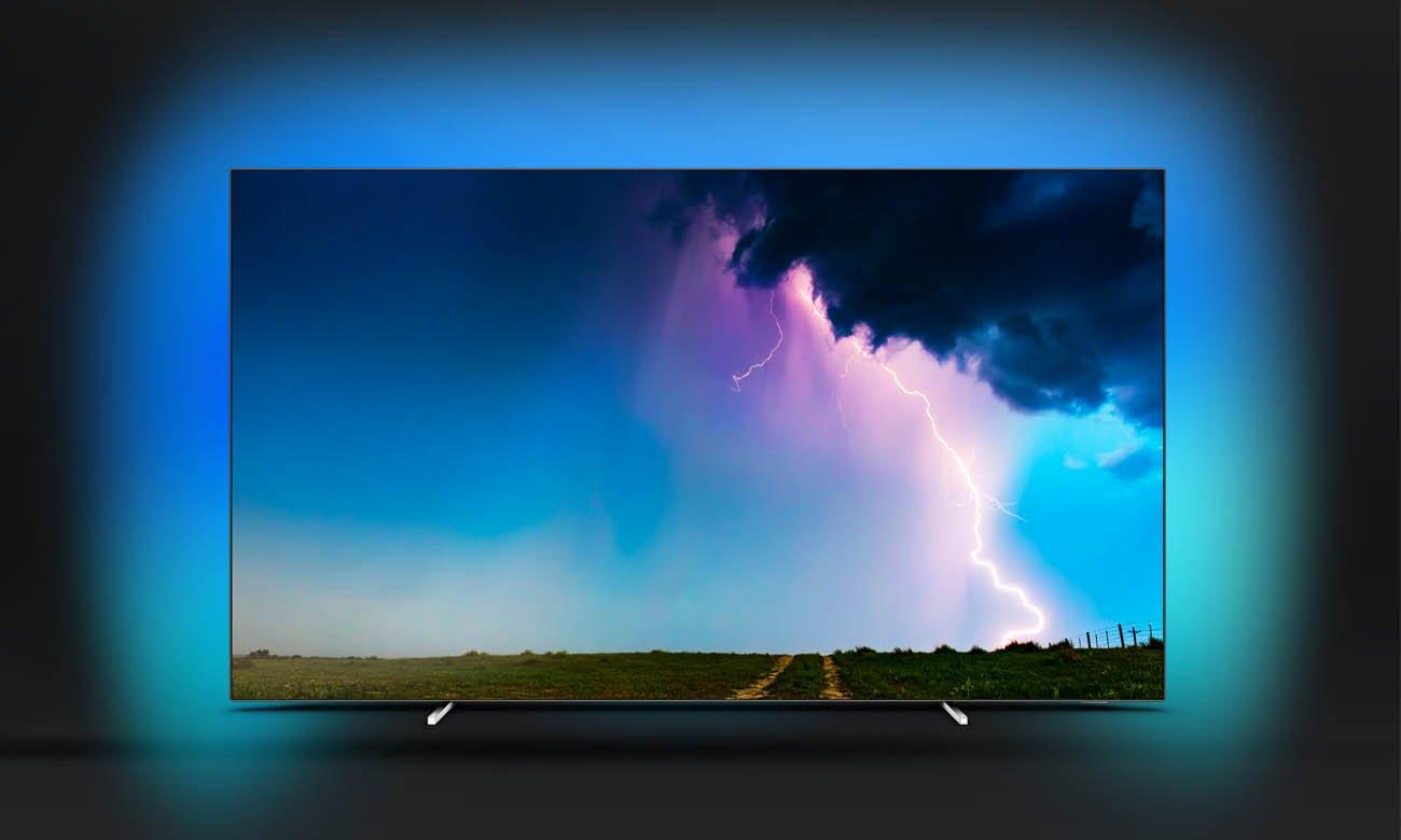 Telewizor Philips 4K 55OLED754 Ambilight