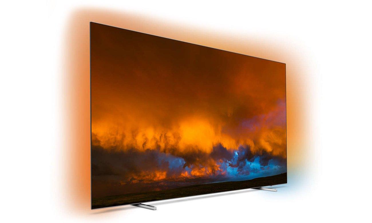 Telewizor Philips 4K 55OLED804 z możliwością sterowania głosowego