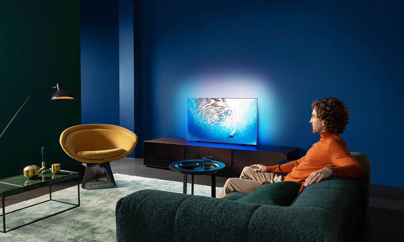 Telewizor Philips 4K 55OLED805 Procesor SI P5 Pro