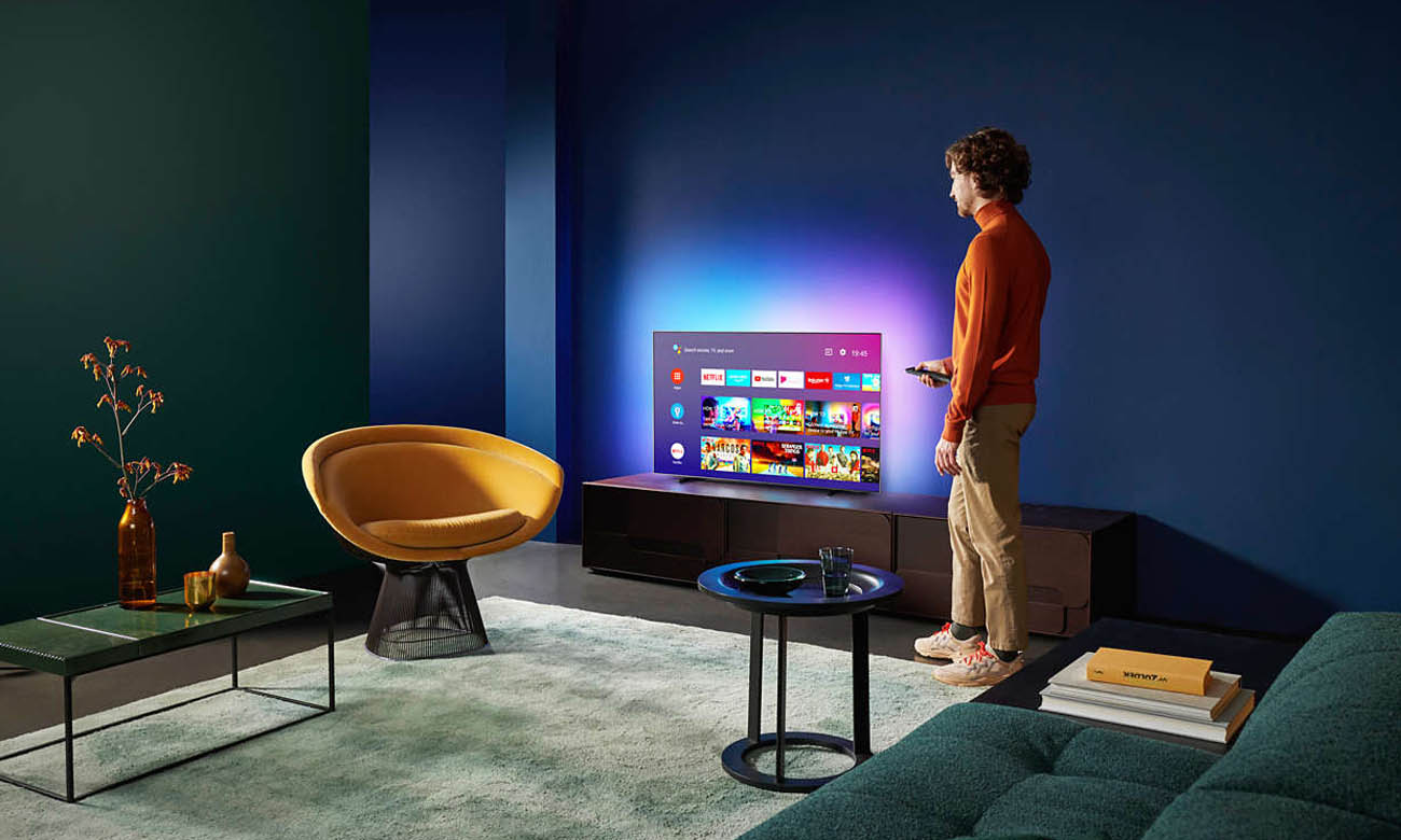 Telewizor Philips 4K 55OLED805 Smart TV ANDROID