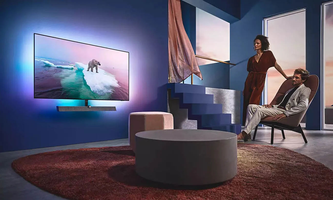 Telewizor 4K Philips 55OLED935 z procesorem P5 ze sztuczną inteligencją SI