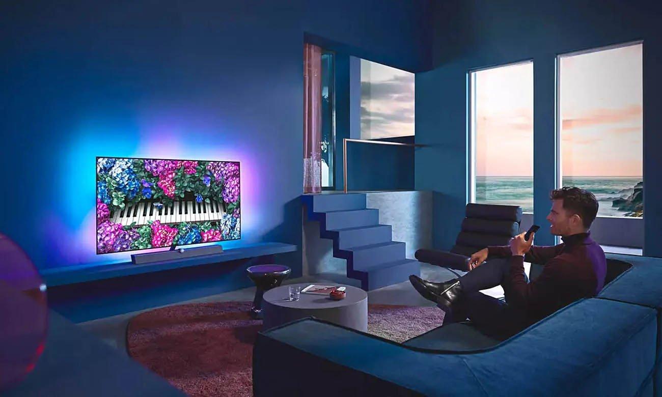 Android TV w telewizorze 4K Philips 55OLED935