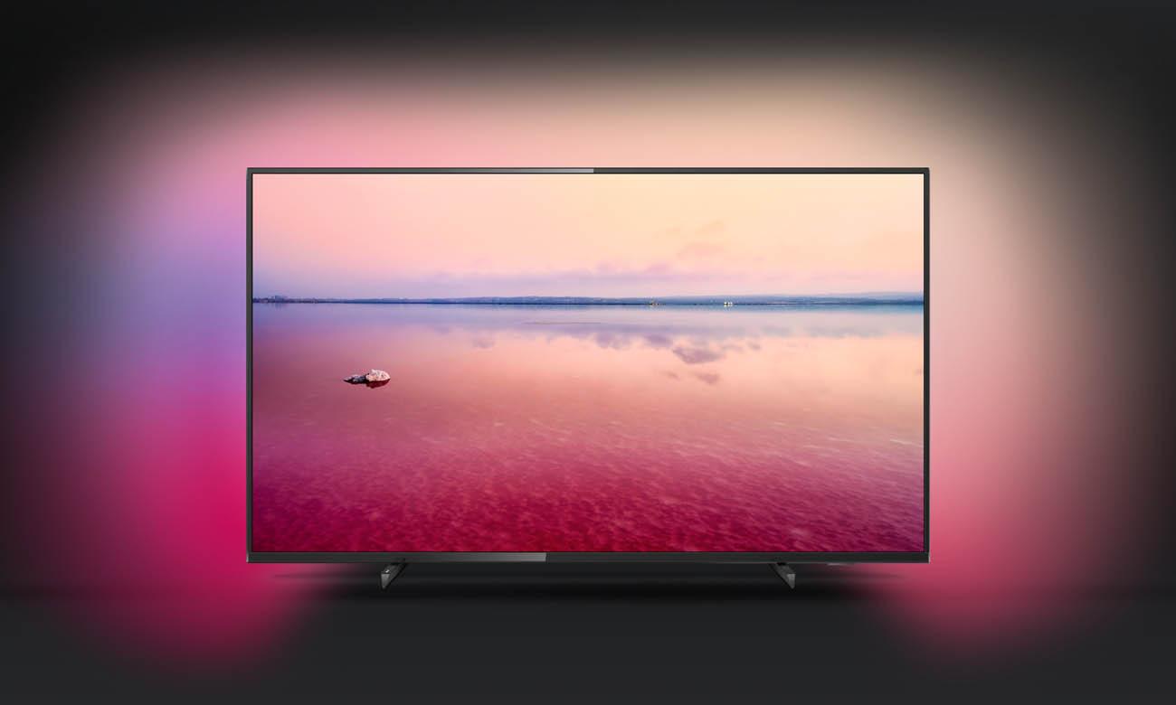 Telewizor Philips 4K 55PUS6704 Ambilight