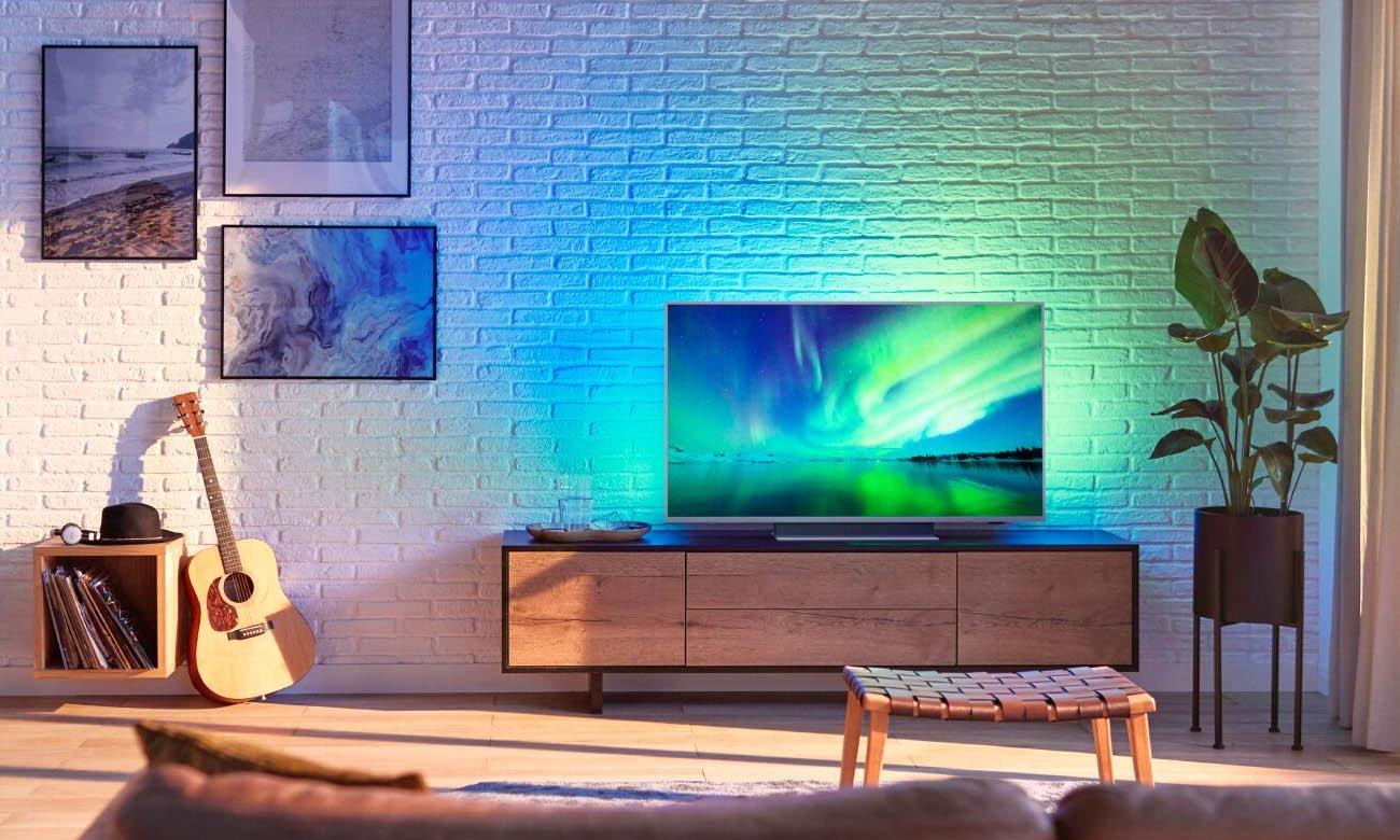 Telewizor 4K Philips 55PUS7504 UHD HDR