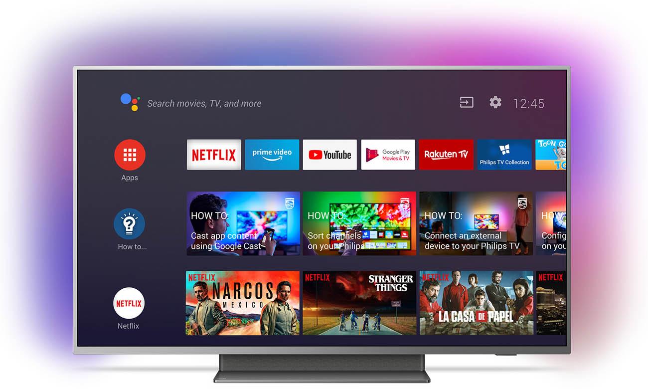 Telewizor 4K Philips 55PUS7504 Android TV
