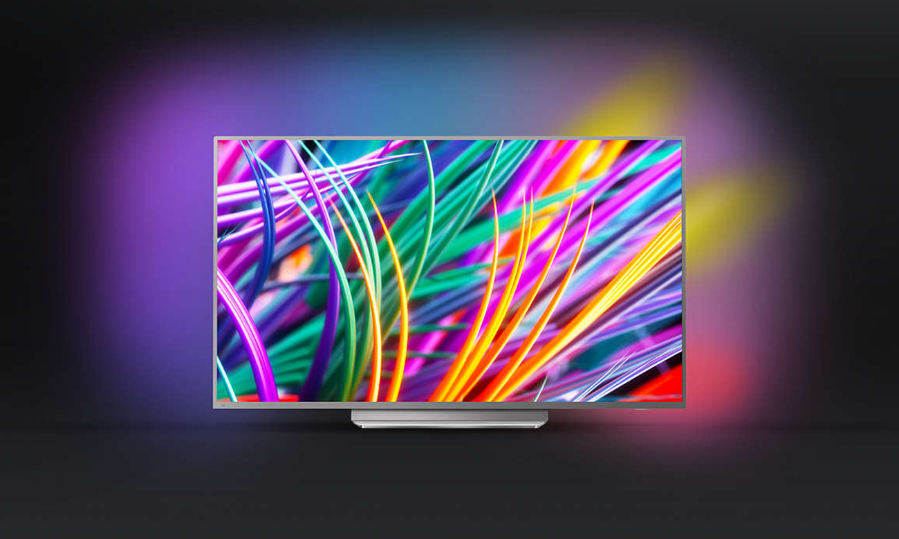 Telewizor z technologią Ambilight Philips 55PUS8303 55 cali