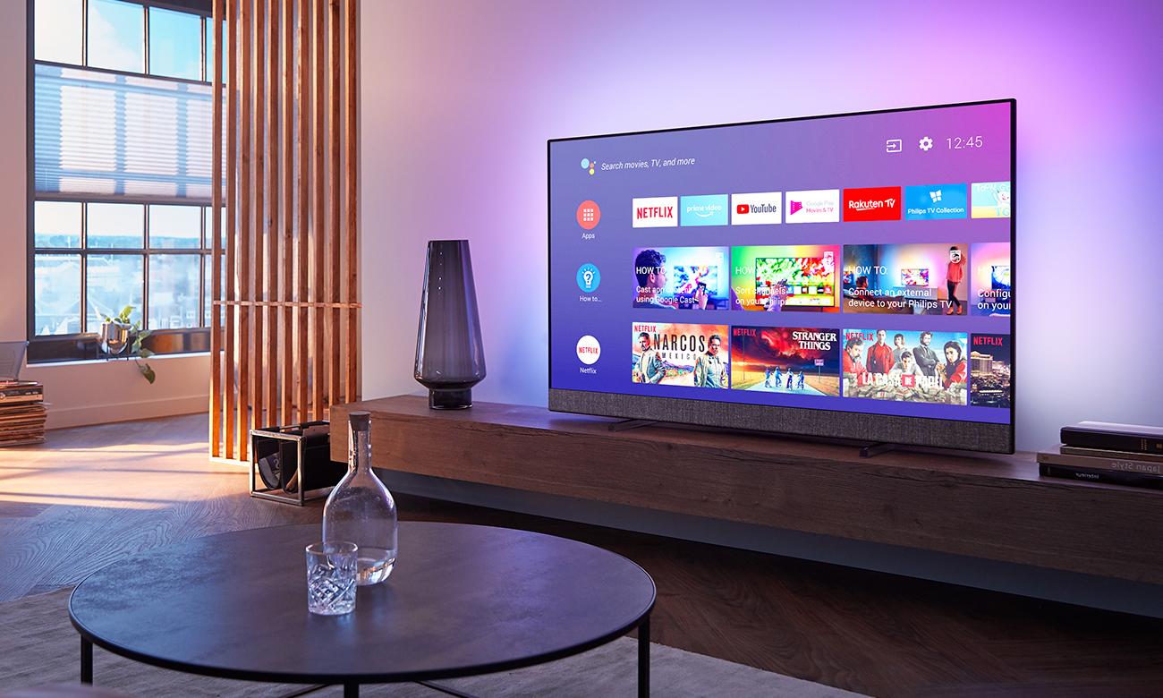 Telewizor 4K Philips 55PUS8804 Android TV