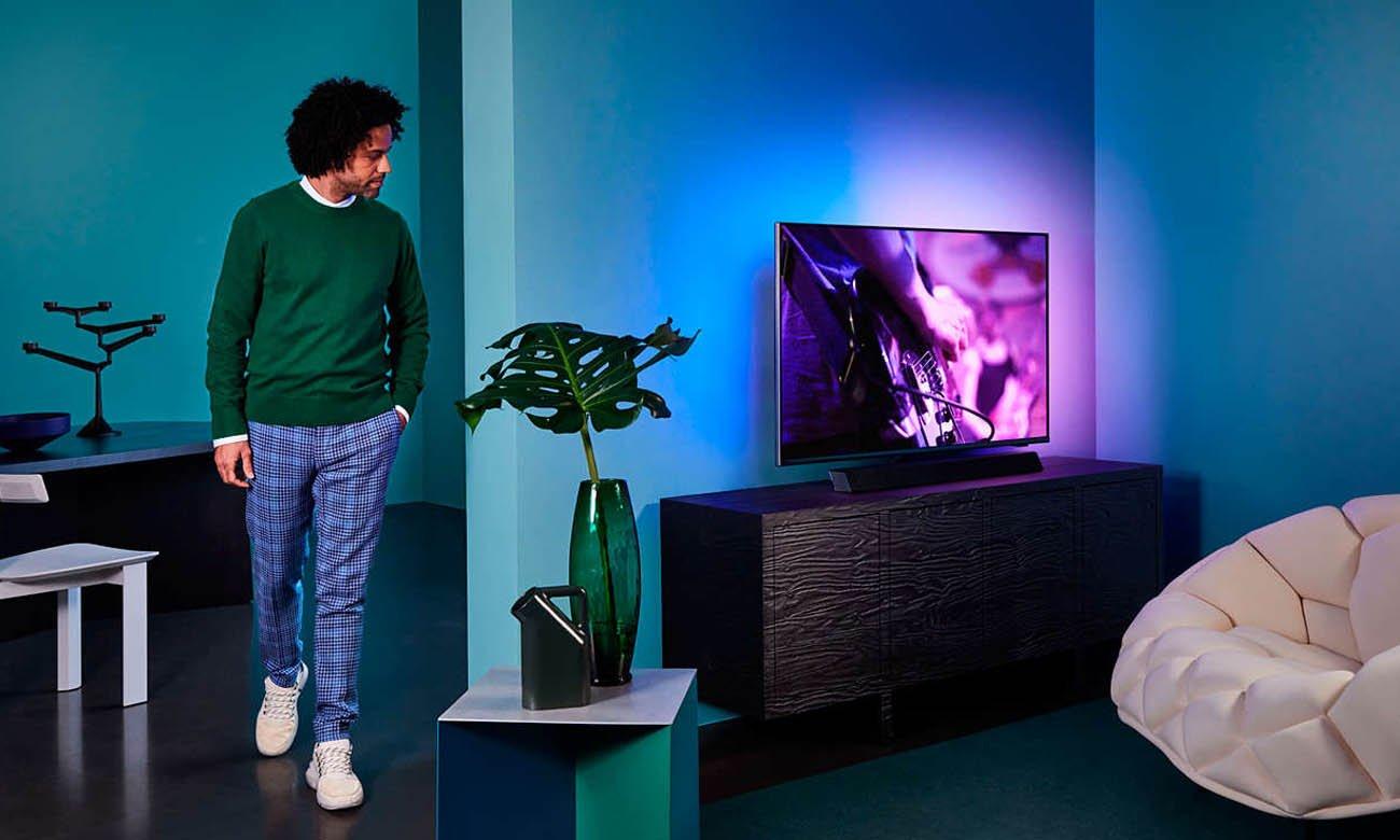 Telewizor 4K Philips 55PUS9435 z listwą głośnikową Bowers&Wilkins