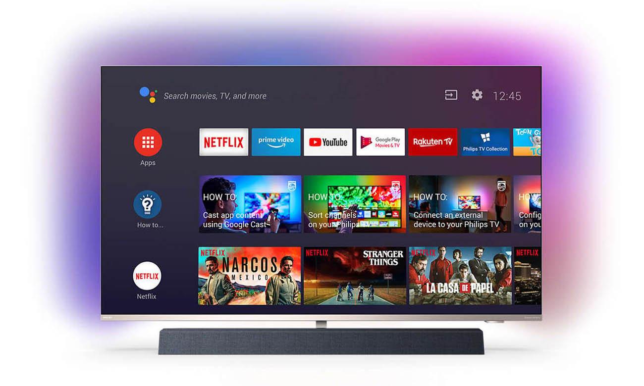 Telewizor 4K Philips 55PUS9435 Android TV