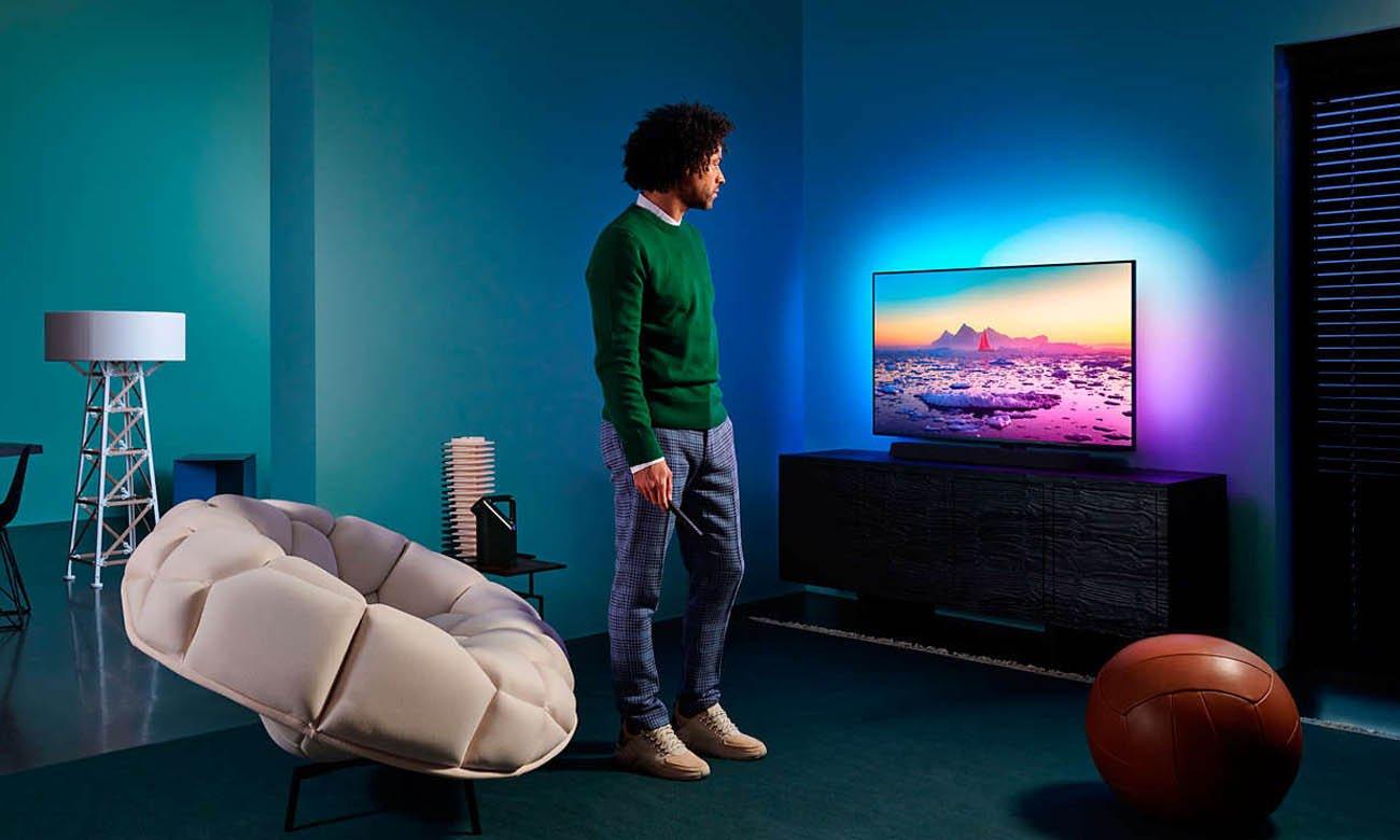 Telewizor 4K Philips 55PUS9435 z Asystentem Google
