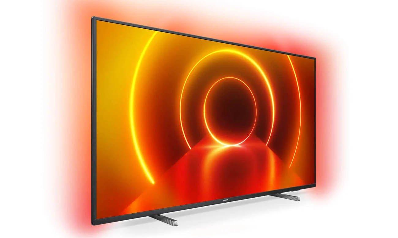 Telewizor Philips 4K 58PUS7805 z możliwością sterowania głosowego