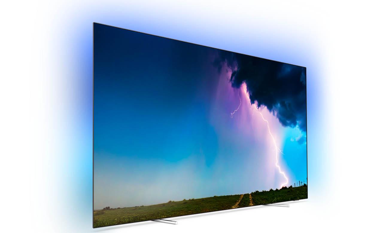Telewizor Philips 4K 65OLED754 z wbudowaną funkcją Alexa