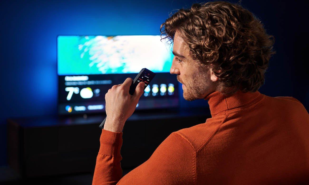 Telewizor Philips 4K 65OLED805 z możliwością sterowania głosowego