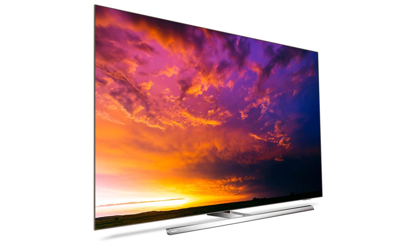 Telewizor Philips 4K 65OLED854 z możliwością sterowania głosowego