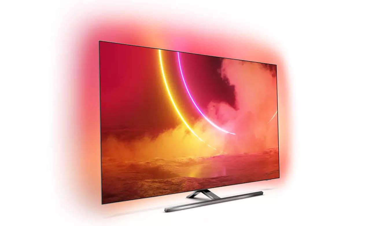 Telewizor Philips 4K 65OLED855 z możliwością sterowania głosowego