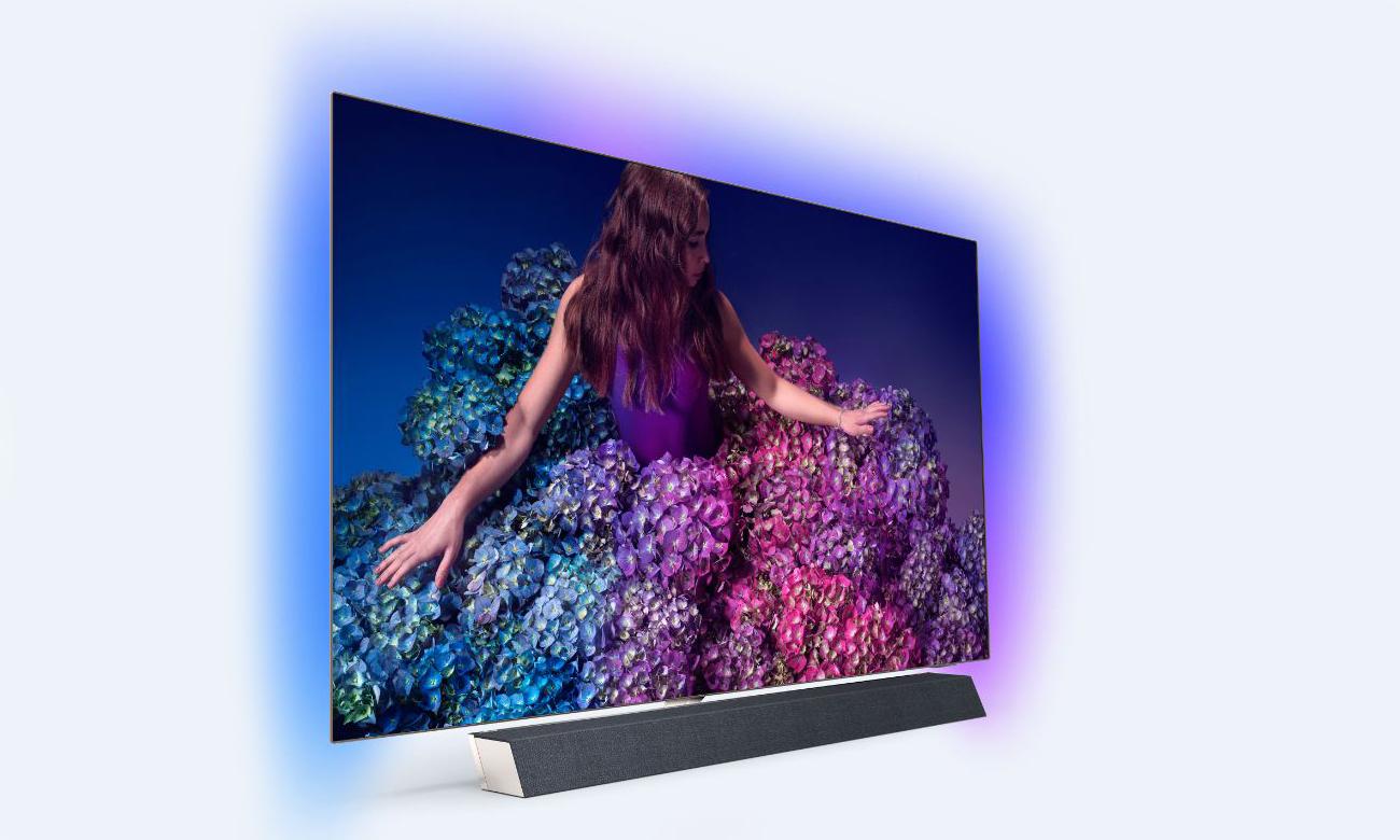 Soundbar Bowers Wilkins w telewizorze Philips 65OLED934