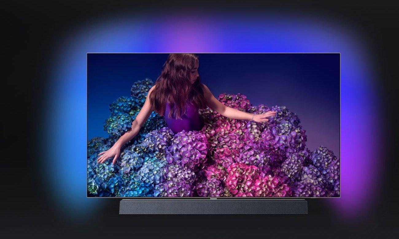 Telewizor 4K Philips 65OLED934 z technologią Ambilight
