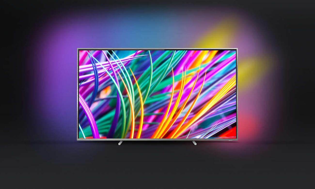 Technologia Ambilight w TV Philips 75PUS8303