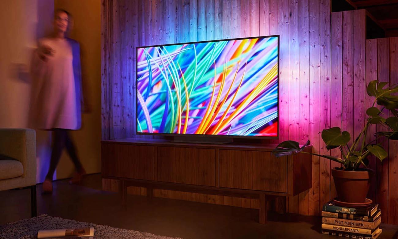 Łączność Wi-Fi w telewizorze Philips 75PUS8303