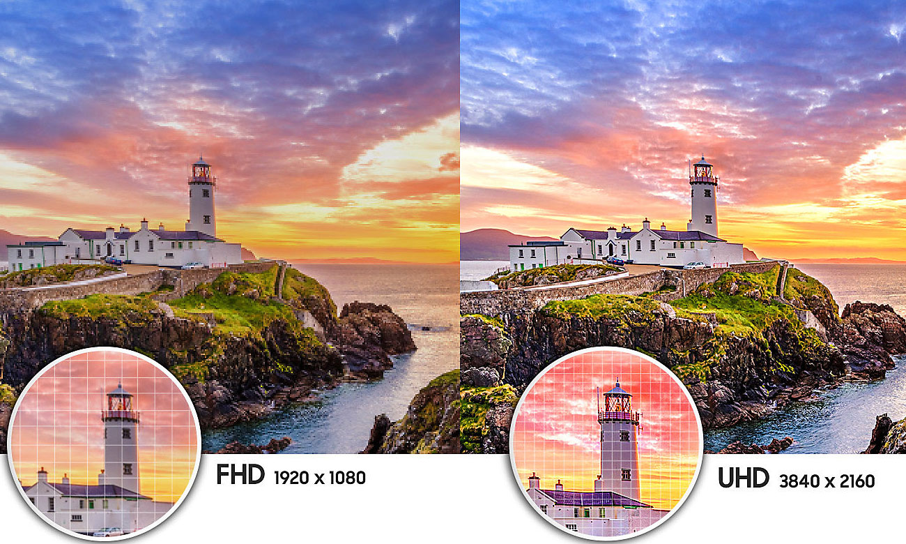 Telewizor Samsung UE55NU7093 z funkcją poprawy koloru