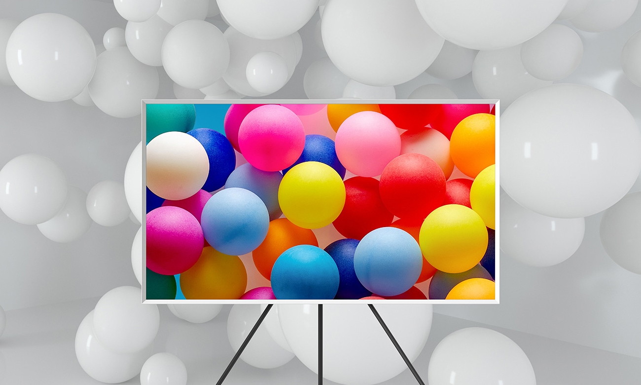 Telewizor HDR 4K Samsung QE43LS03A z technologią HDR