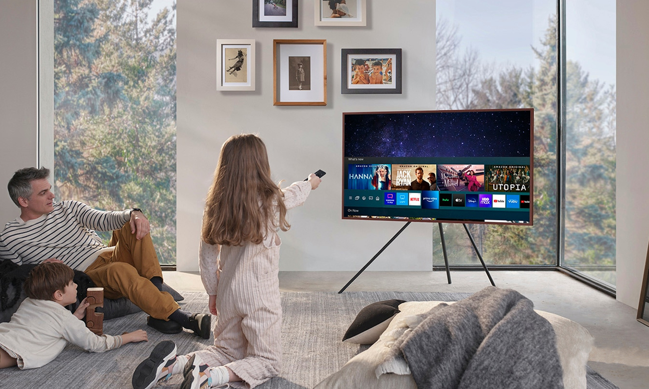 Smart TV Samsung QE43LS03A Tizen 43 cali
