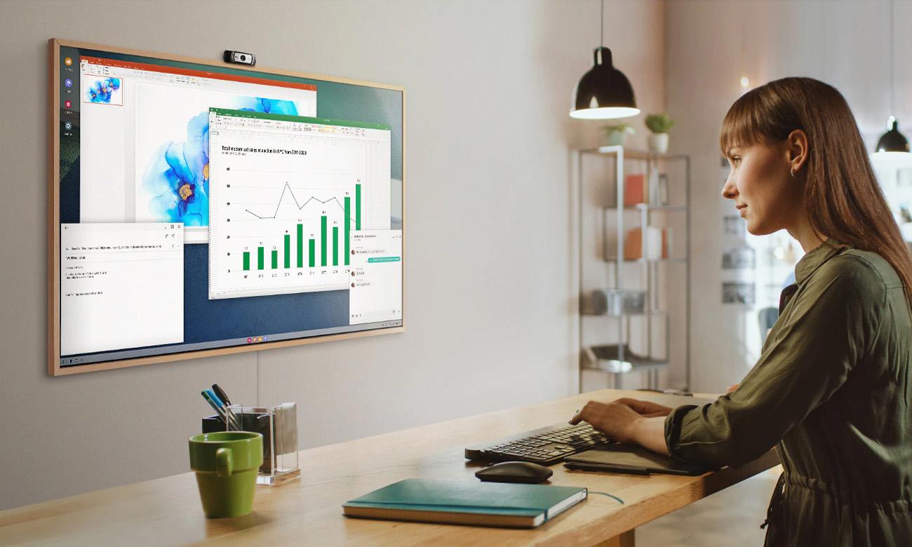The Frame Samsung QE43LS03A telewizor do Home Office