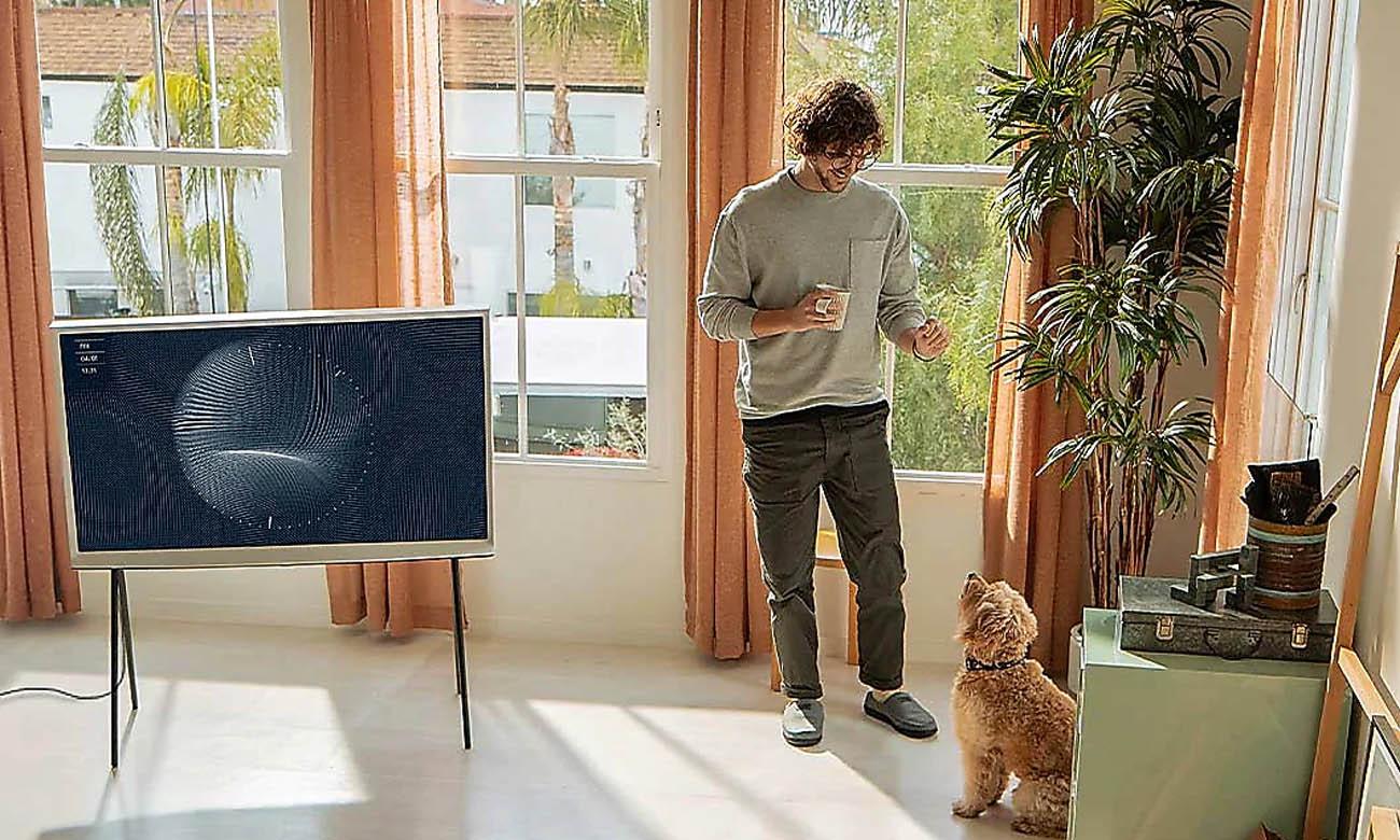 Telewizor HDR 4K Samsung QE49LS01TB z technologią HDR