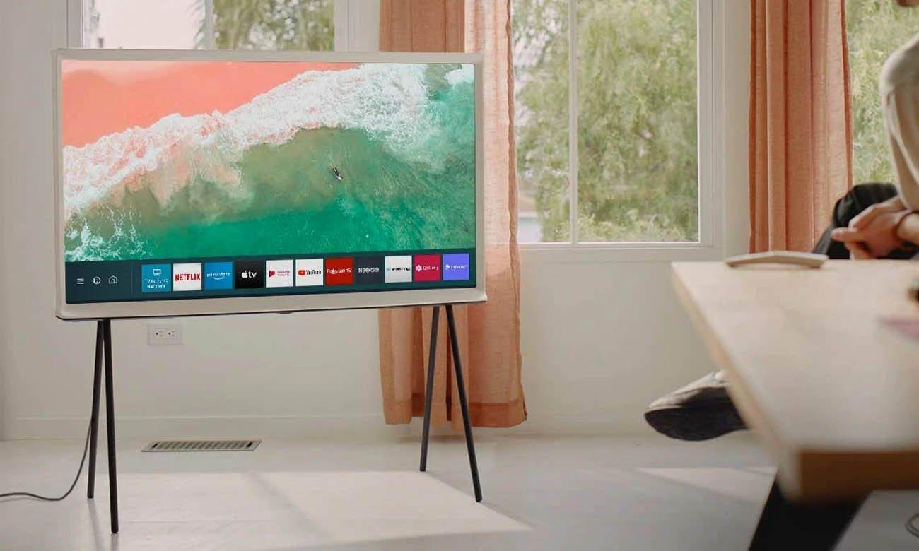 Smart TV Samsung QE55LS01T Tizen 55 cali