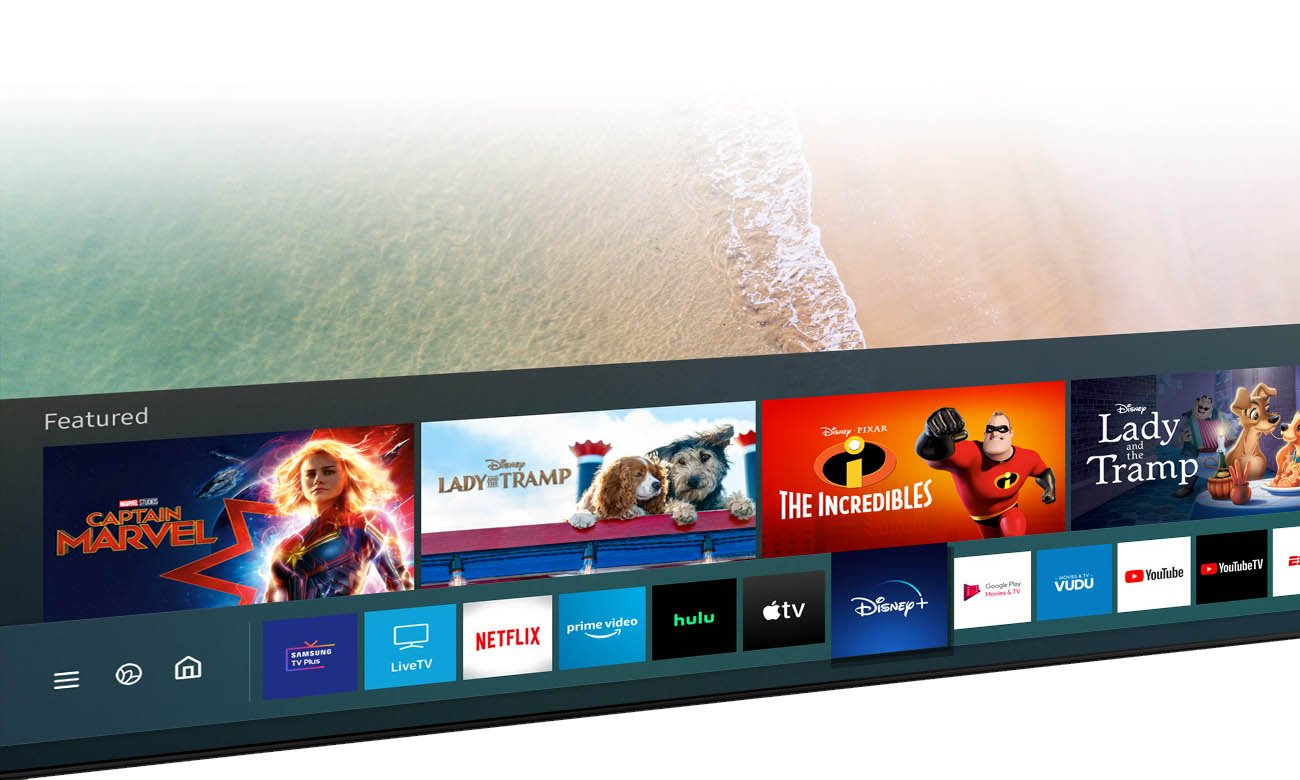 Smart TV Samsung QE55Q64TA Tizen 55 cali