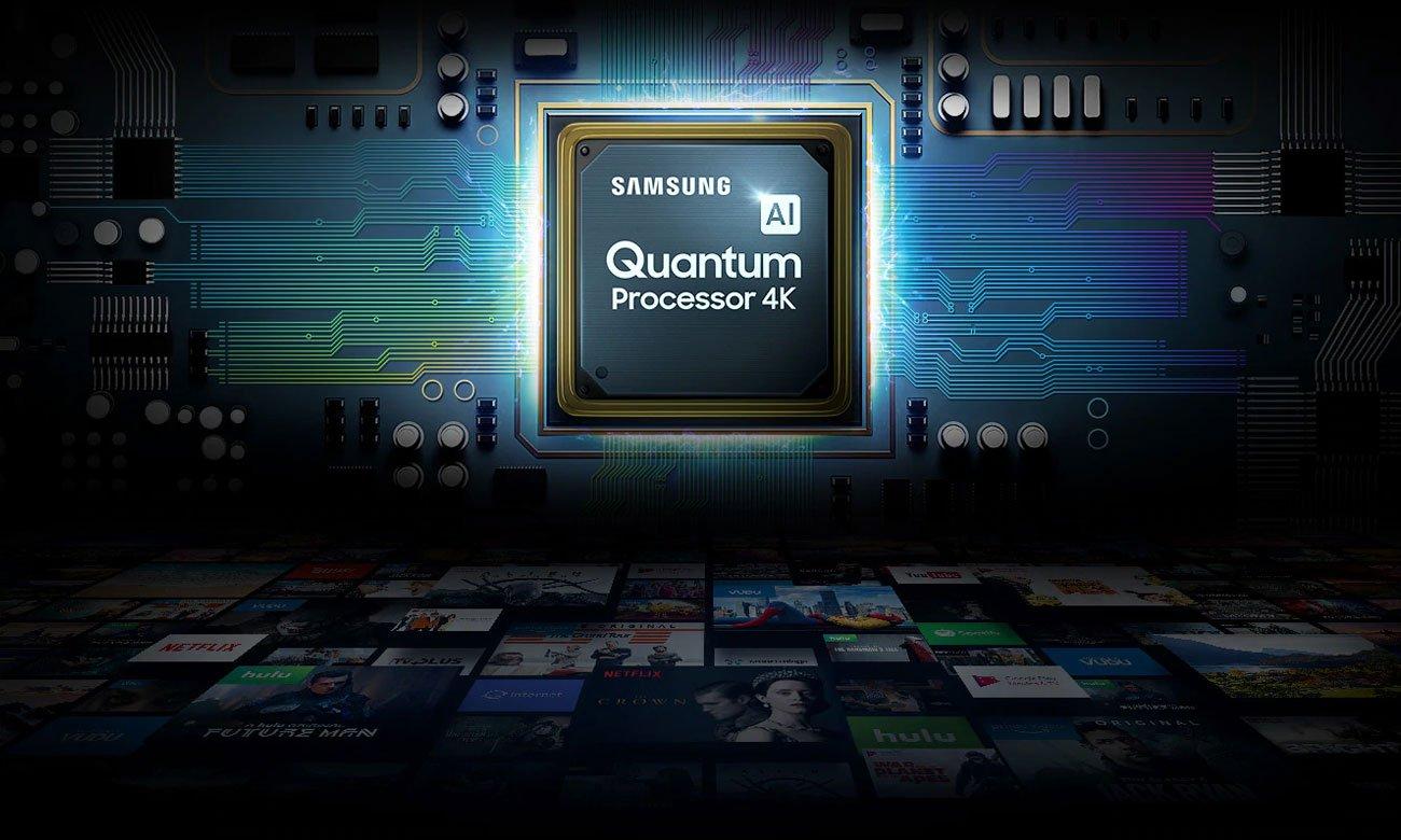 Procesorem Quantum 4K Samsung