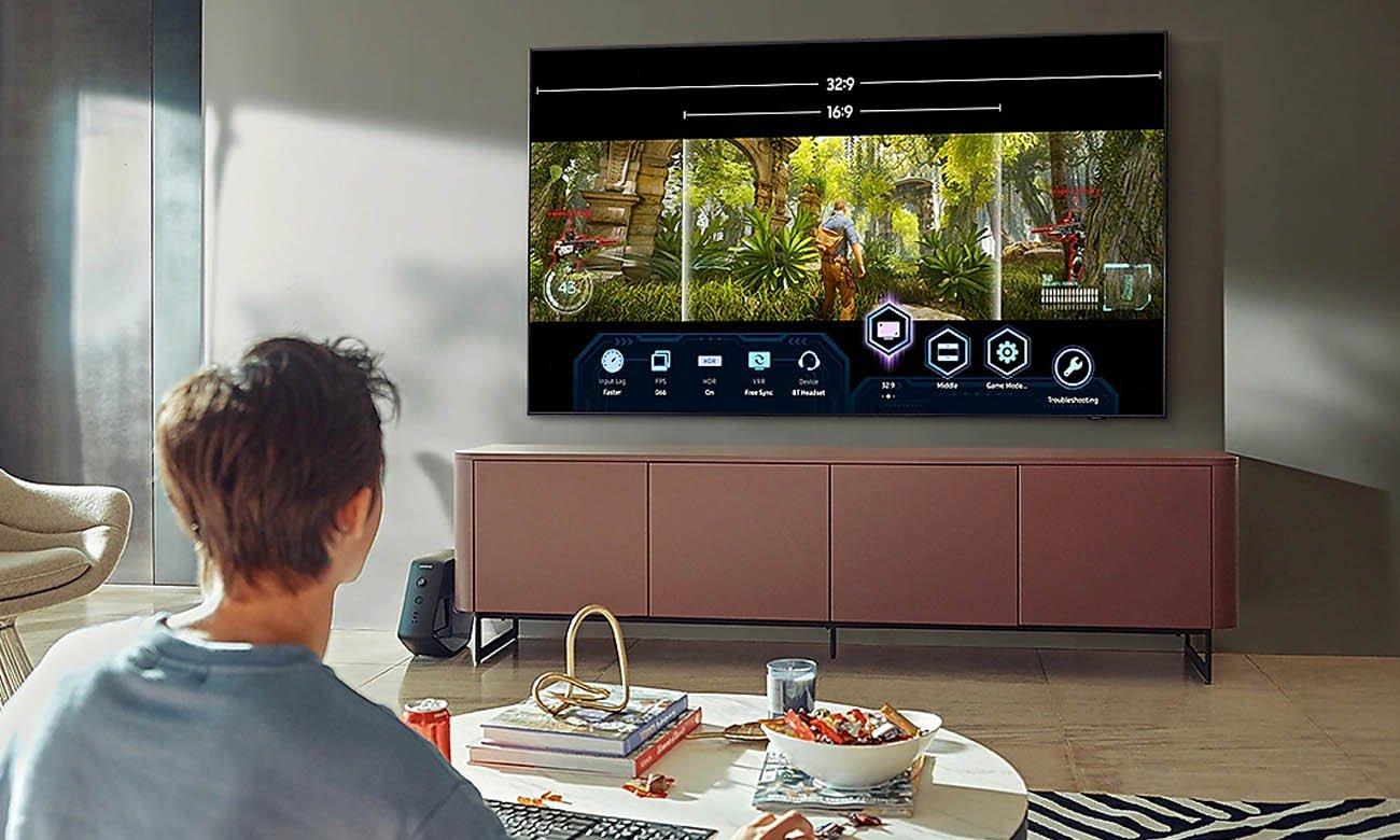 Telewizor dla graczy Samsung QE55Q77AA do gier