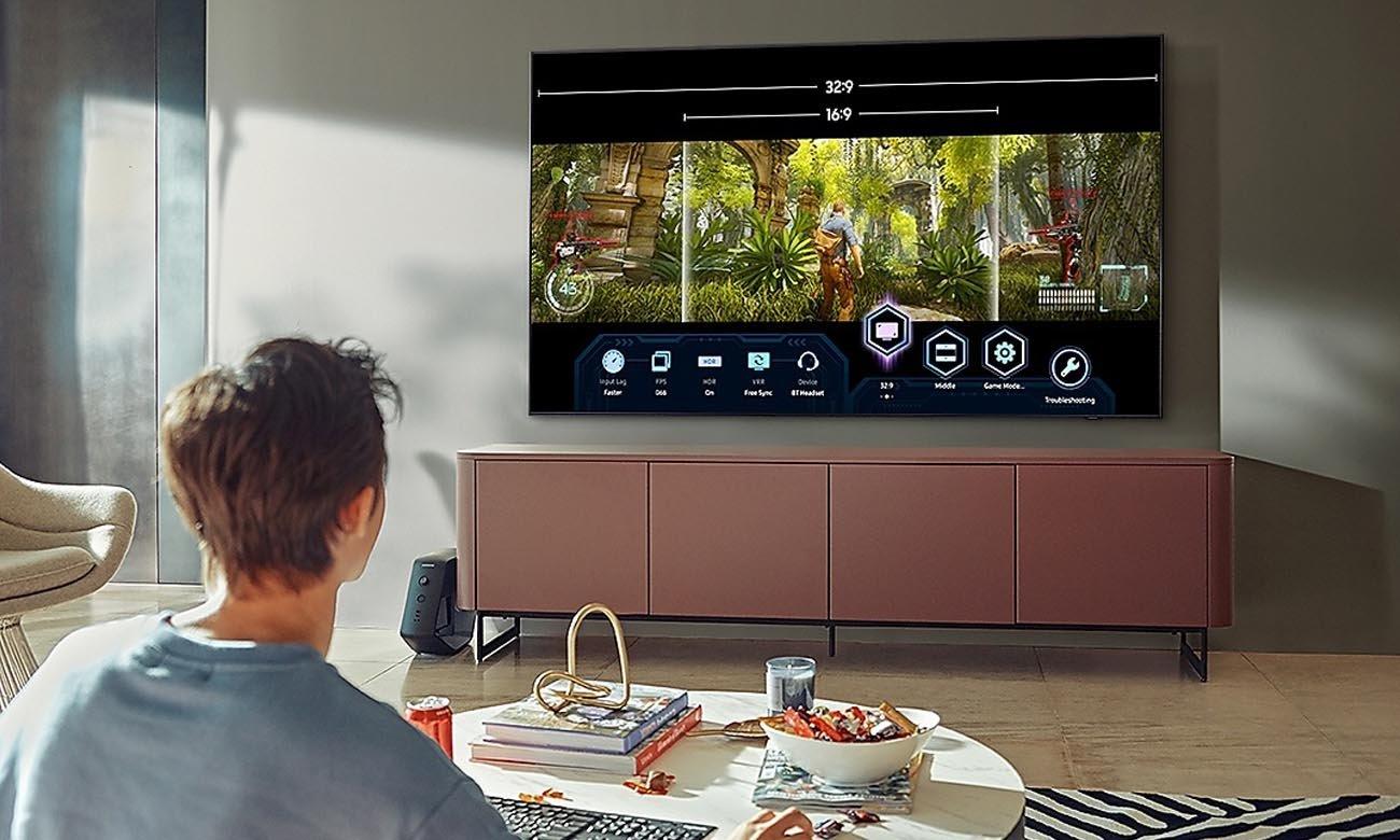 Telewizor dla graczy Samsung QE55Q80AA do gier