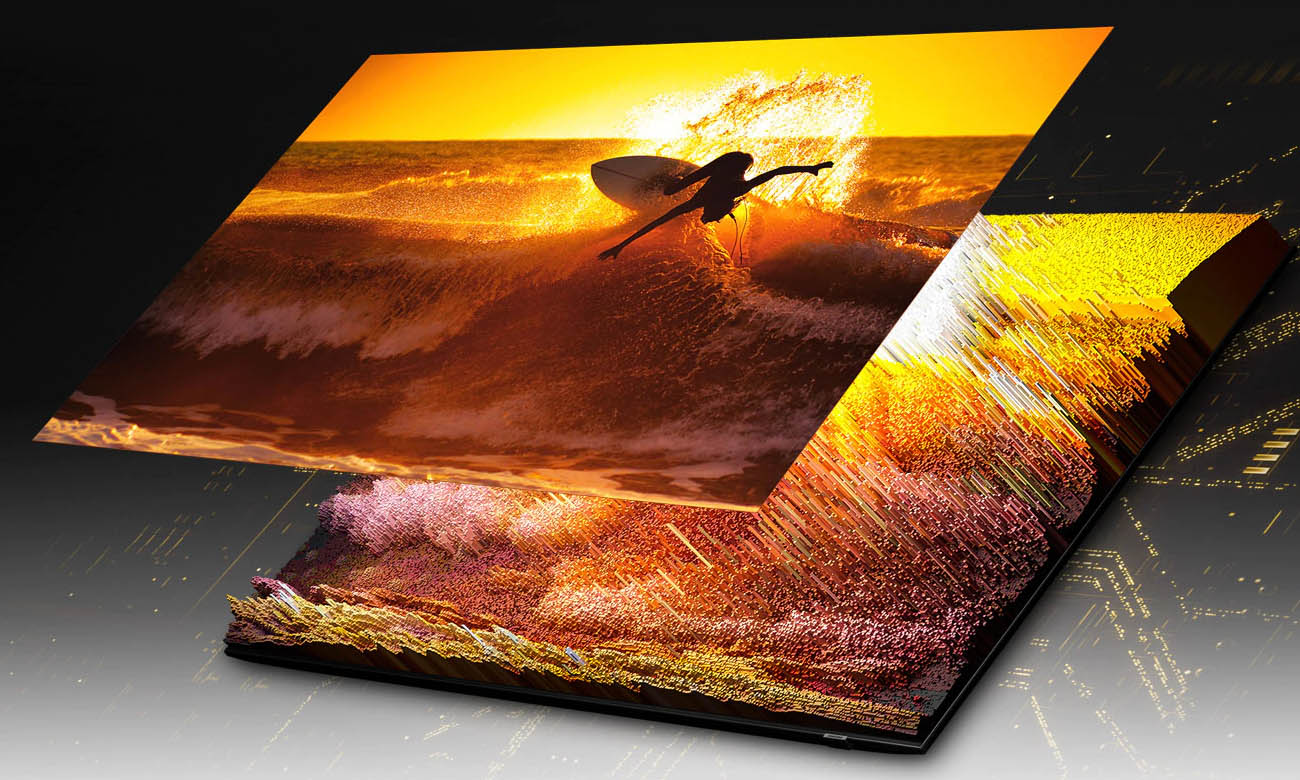 Telewizor Ultra HD Samsung QE65QN85A z powłoką antyrefleksyjną