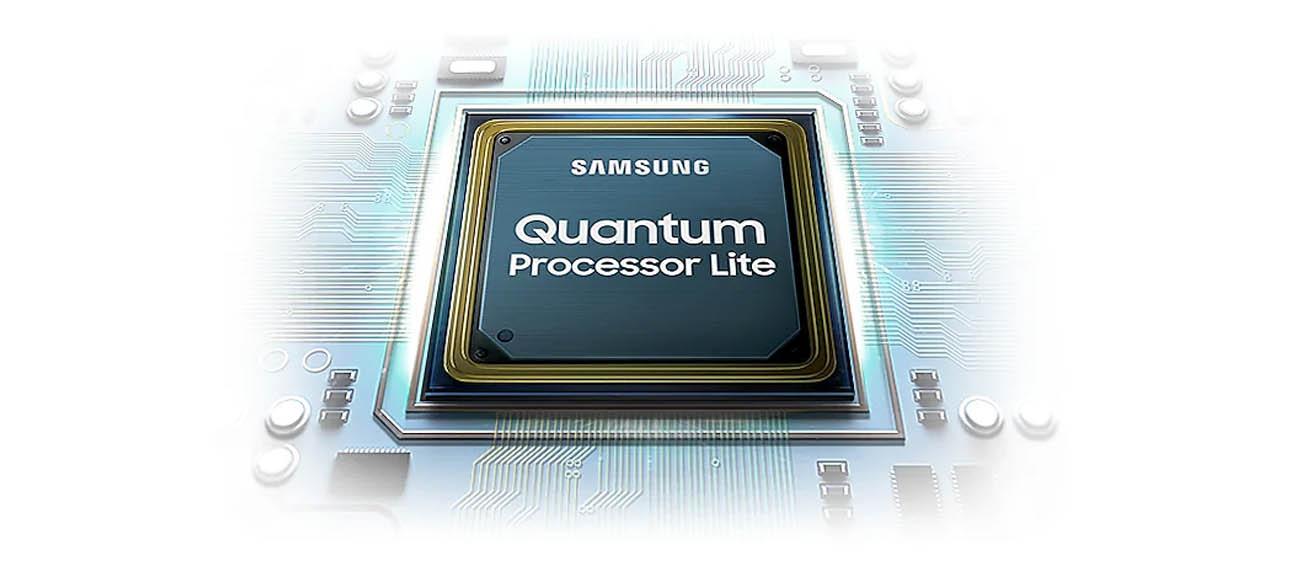Jaki procesor w tv Samsung QLED 4K QE75Q64TA