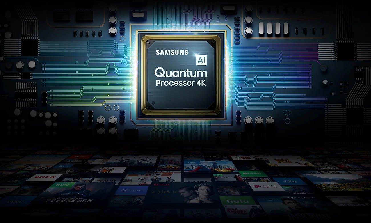 Jaki procesor w tv Samsung QLED 4K QE75Q80TA