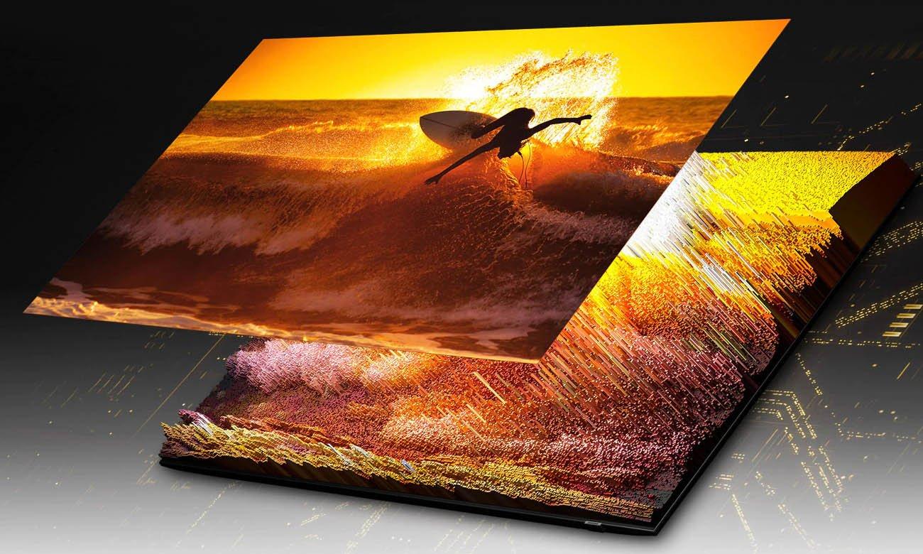 Telewizor Ultra HD Samsung QE75QN85A z powłoką antyrefleksyjną