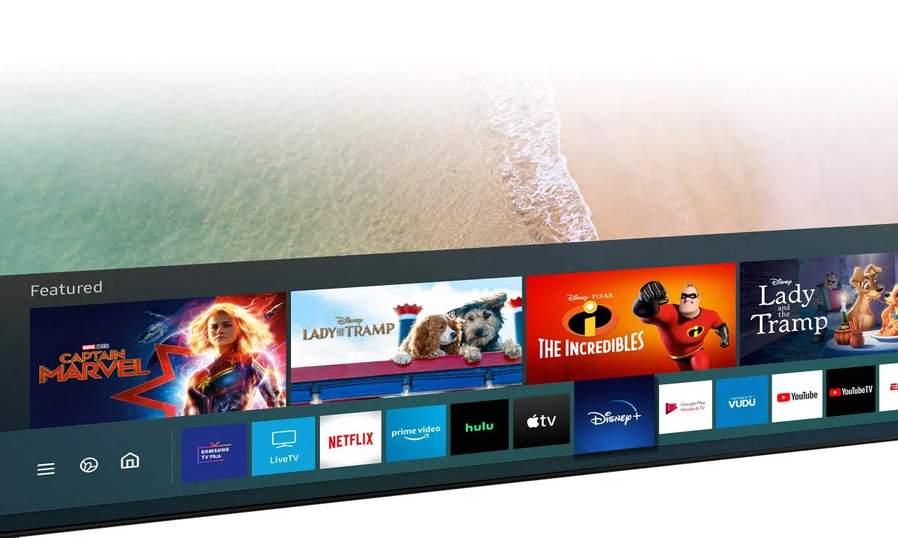 Smart TV Samsung QE85Q60AA Tizen 85 cali