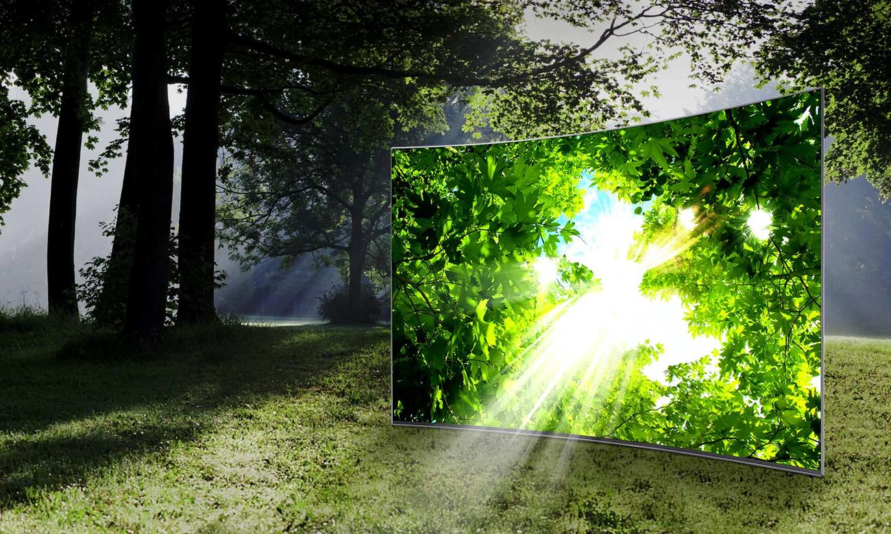 Technologia HDR w telewizorze Samsung UE49KU6100