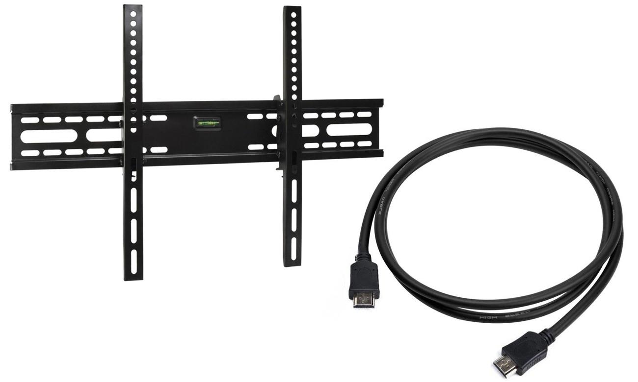 Uchwyt RTV i kabel HDMI w zestawie