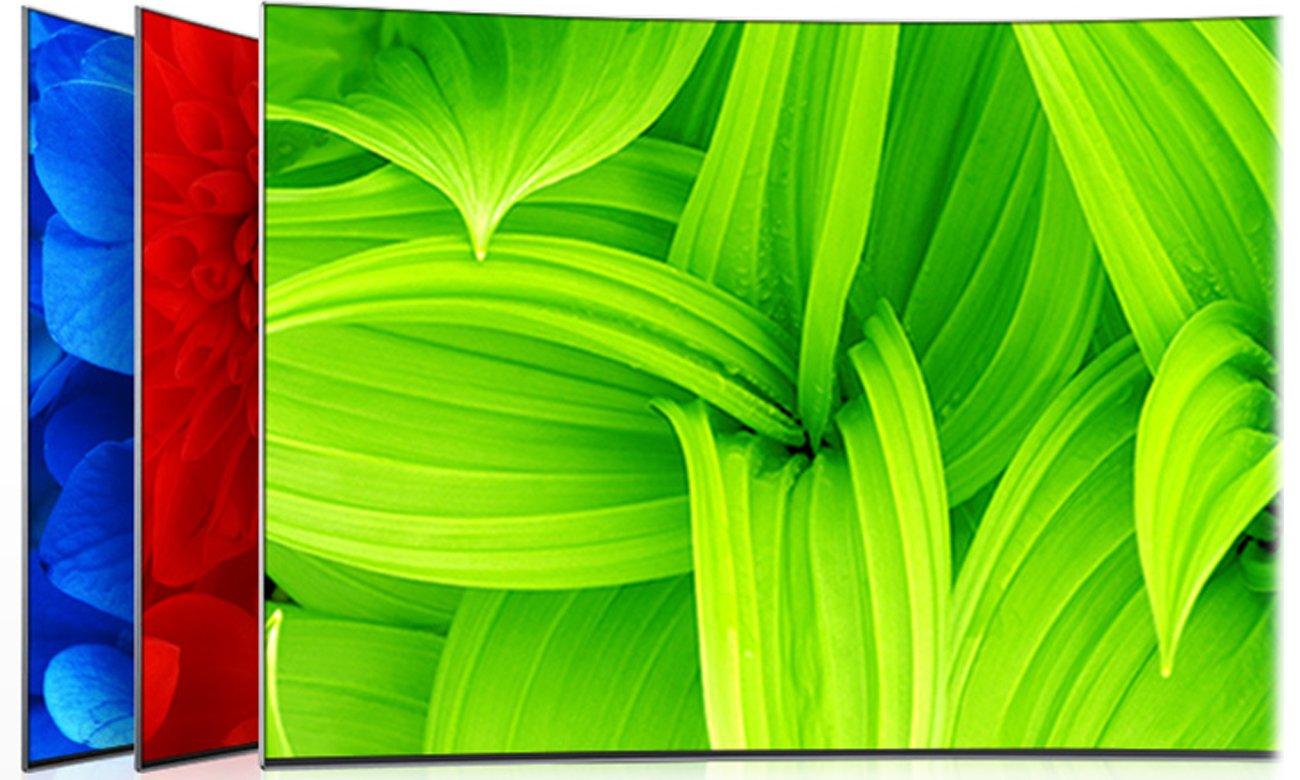 Intensywne kolory w telewizorze Samsung UE55K6300