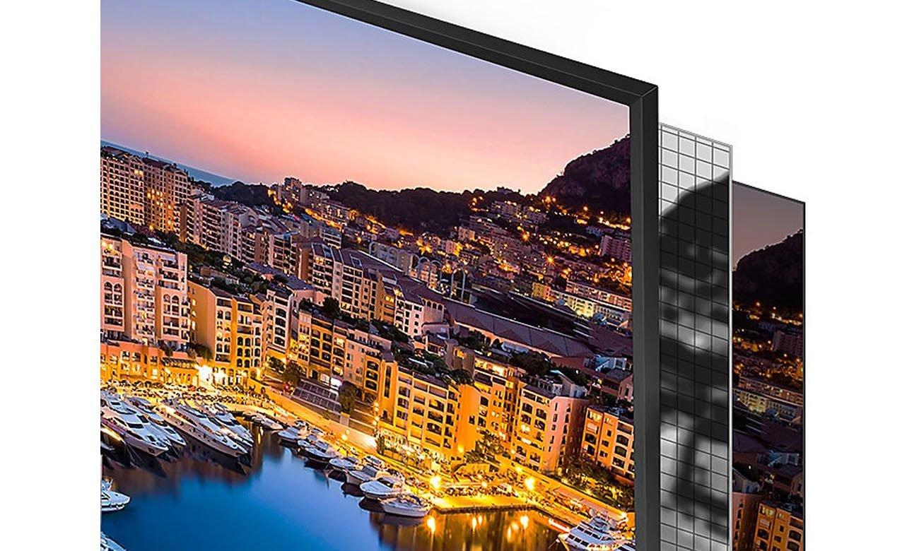 Technologia UHD Dimming w telewizorze Samsung UE55NU7093