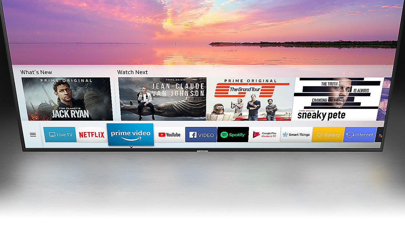 Łączność telewizora Samsung UE55NU7093 z smartfonem